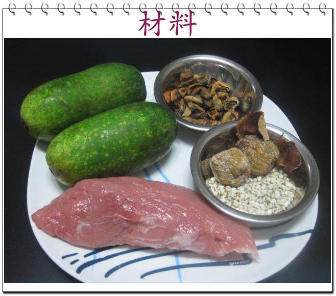 韋太烹飪教室: 節瓜薏米淡菜湯