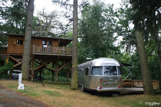 Il Camping Albirondack di Albi