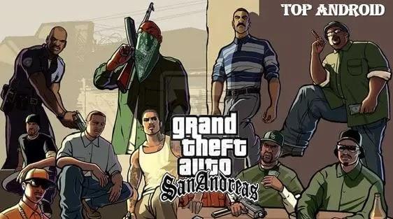 تحميل لعبة GTA SAN ANDREAS الاصلية للاندرويد برابط مباشر من ميديا فاير و ميجا