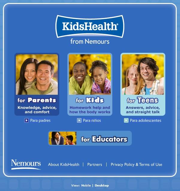 Mommy Maestra: KidsHealth.org