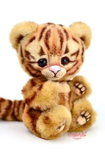 Artist teddy tiger, teddy ooak, Natalie Lachnitt, Clemens Spieltiere, авторская игрушка, тедди тигр, NatalKa Creations, teddies with charm, tiger teddy, artist tiger, Künstler Tiger, Unikat, Künstlerteddy, Teddy, Teddys, Tiger