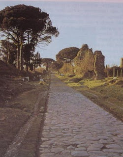 tratto della Via Appia