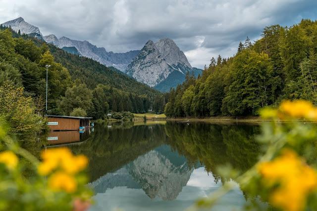 Entdeckungstouren Wasser Aulealm - Riessersee Runde + Die kleine Wank-Runde | Wandern Garmisch-Partenkirchen 01