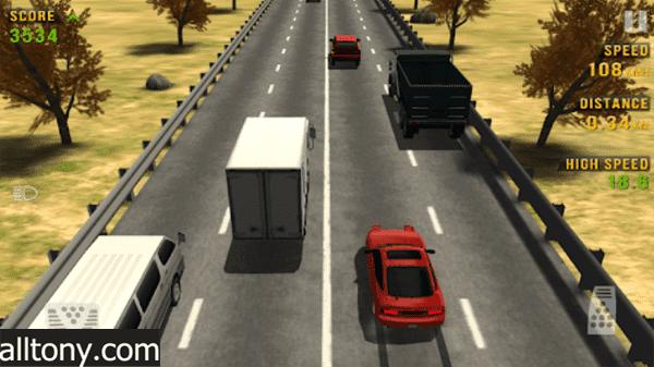 تحميل لعبة متسابق المرور Traffic Racer للأيفون والأندرويد XAPK