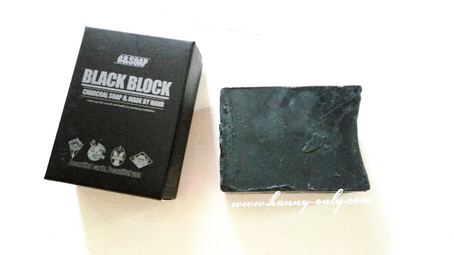 b&soap black block charcoal soap review