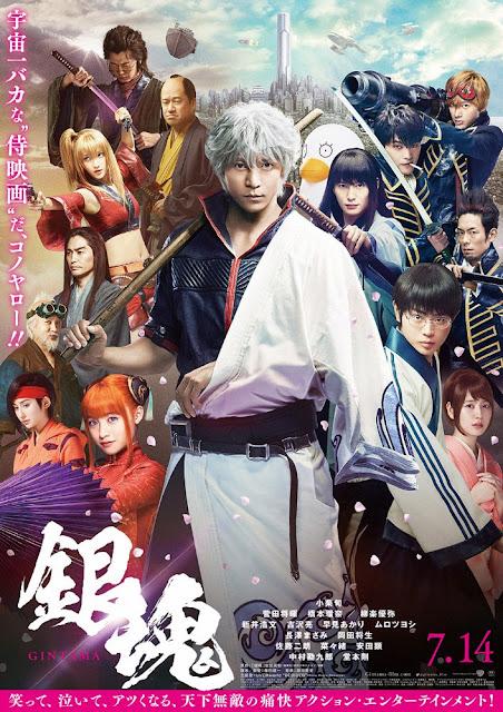 Sinopsis Film Jepang Gintama (2017)