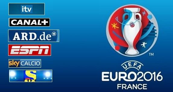 Uefa Euro 2016 TV Schedule Live