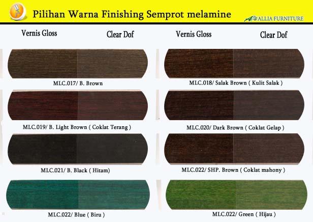 Warna Finishing Furniture Semprot Melamine 3