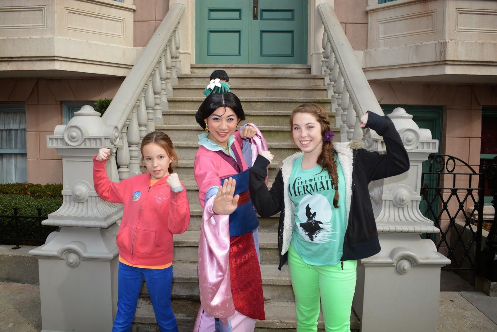 Character Palooza da Disney - Mulan
