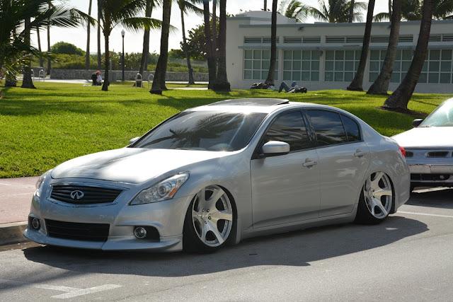 Miami Beach cars tuned Infinity