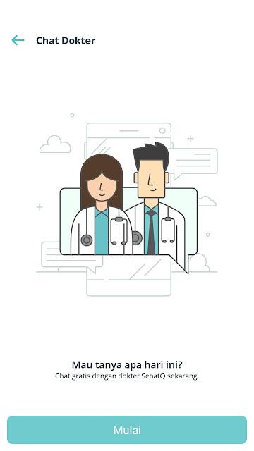 chat dokter aplikasi sehatQ