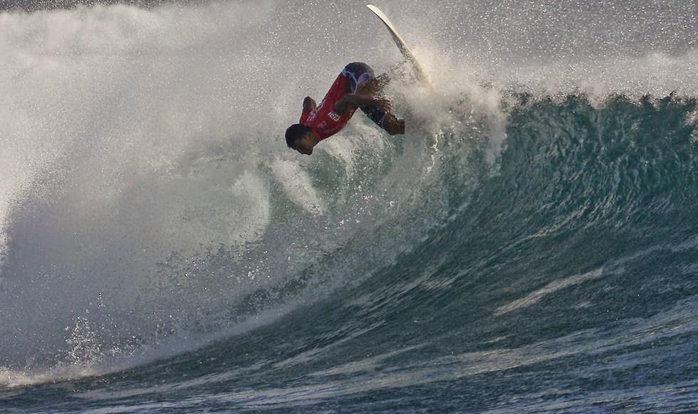 Fiji Pro 2014 Foto ASP Steve Robertson Michel Bourez