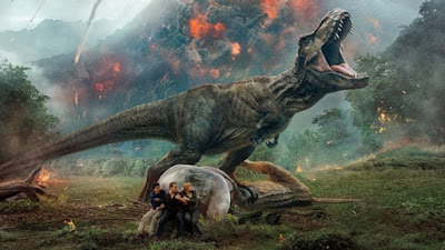 Jurassic World Fallen Kingdom Banner