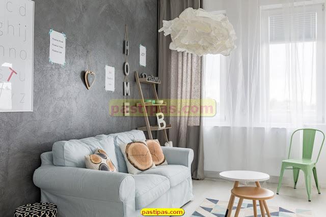 Ide Desain Interior Rumah  - Ruang Keluarga