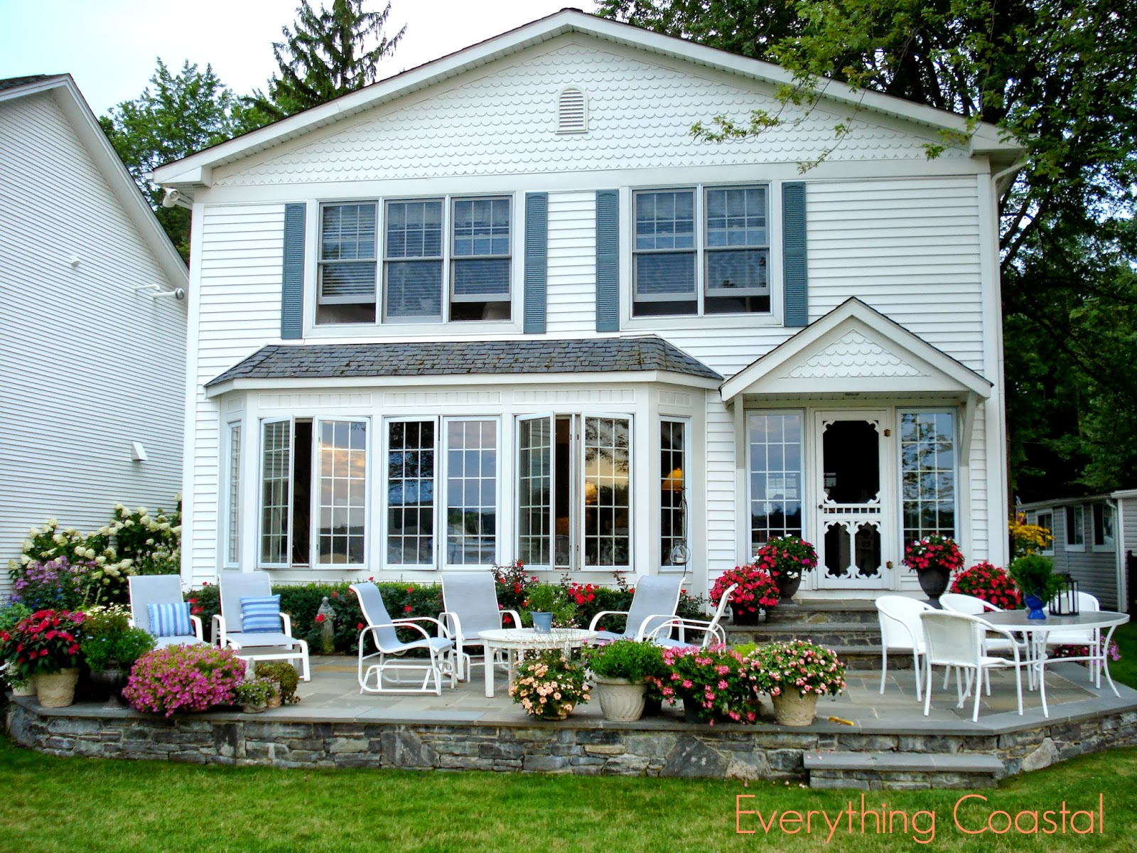 Everything Coastal: A Michigan Lakefront Storybook Cottage