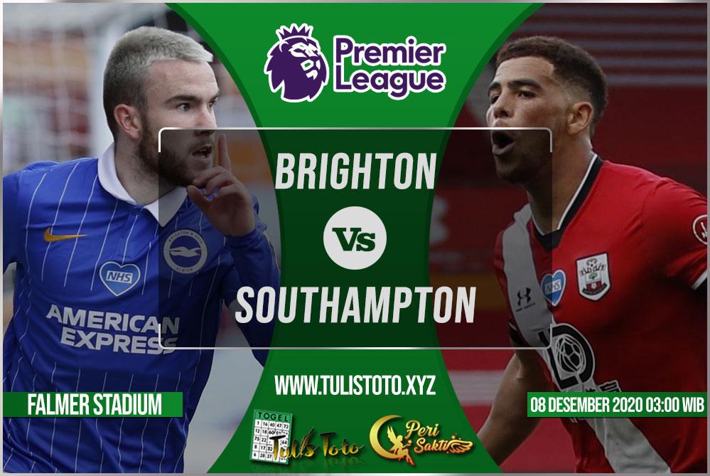 Prediksi Brighton vs Southampton 08 Desember 2020