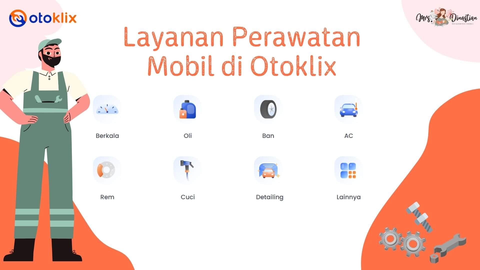 Layanan Perawatan Mobil Otoklix