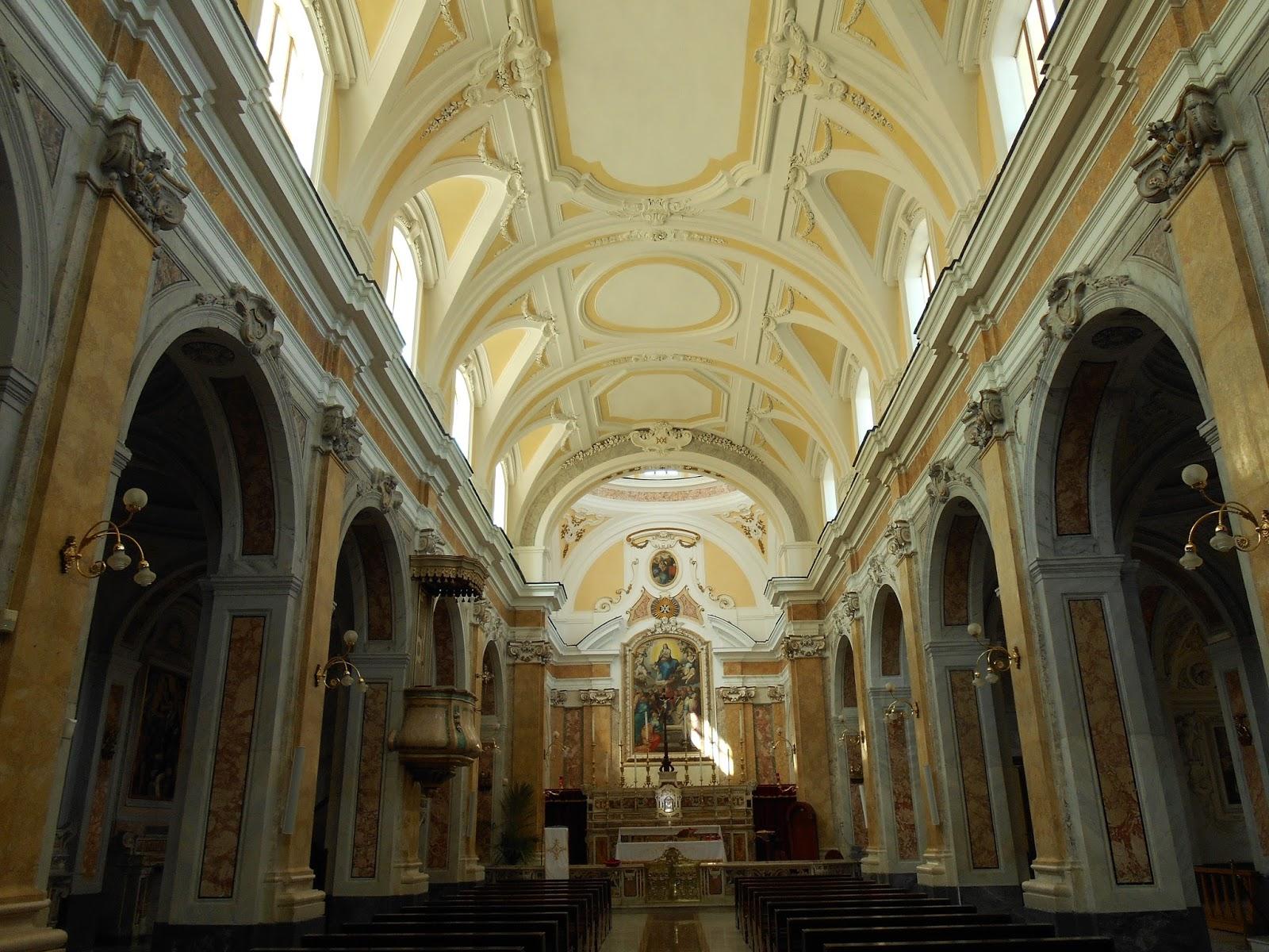Vetus Et Novus Afragola Darte Santa Maria Dajello Presbiterio