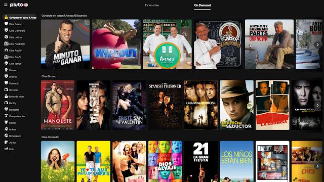 Películas on demand gratis