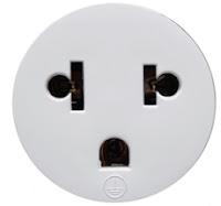 Plugs de tomadas usados em Bariloche - AR