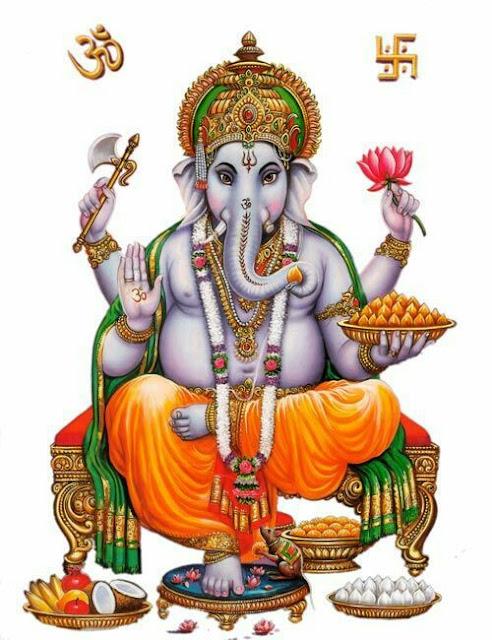 Shri Ganesha Chalisa Lyrics in Hindi