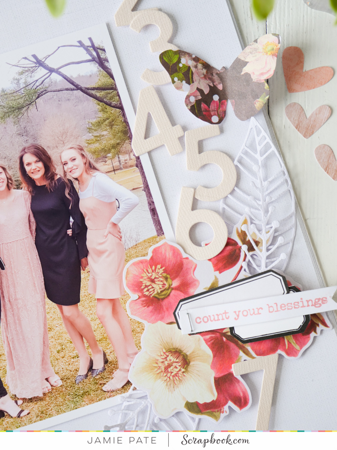 How to Count Your Blessings Layout by Jamie Pate