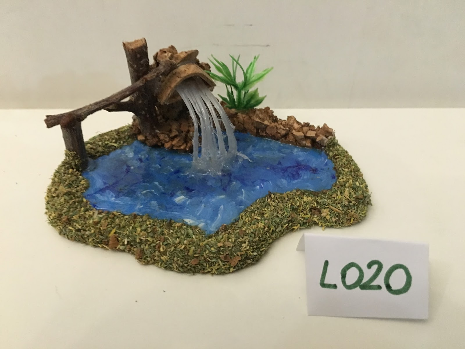 Accessori presepe di babu e meme laghetti con cascata 2016 for Accessori laghetto