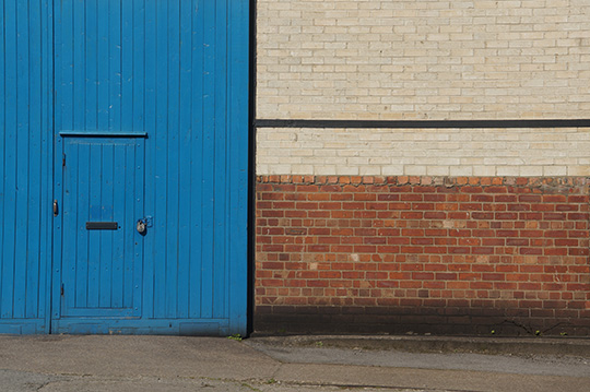 blue door, urban photography, urban photo, industrial photo, street photography, photo art, photographer, Sam Freek,