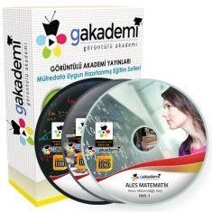 Görüntülü ALES Çözümlü Soru Bankası Eğitim Seti 58 DVD
