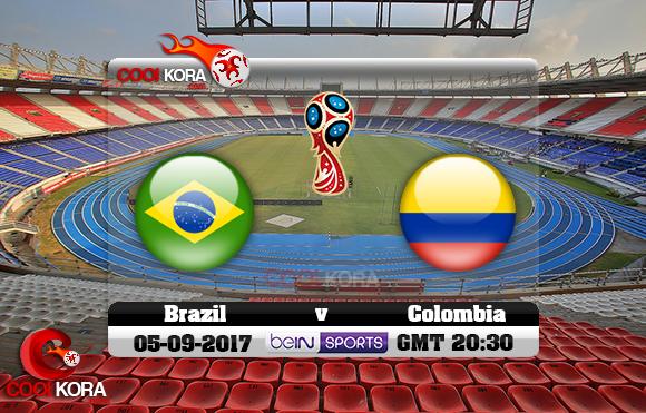 مشاهدة مباراة كولومبيا والبرازيل اليوم 5-9-2017 تصفيات كأس العالم