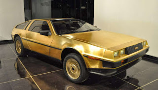 Delorean DMC - 12 de oro
