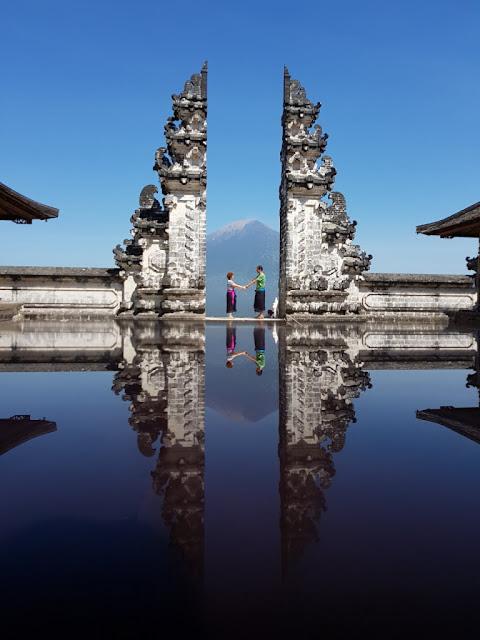 Porta del Paradiso del Lempuyang temple-Bali