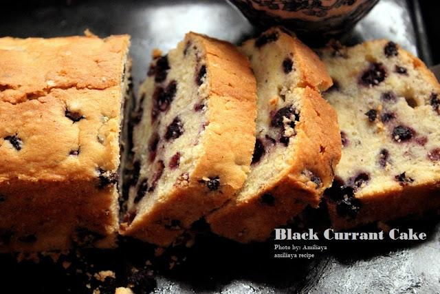 黑加仑蛋糕