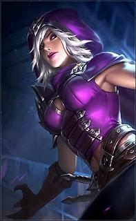 Natalia Glass Blade Heroes Assassin of Skins Rework V2