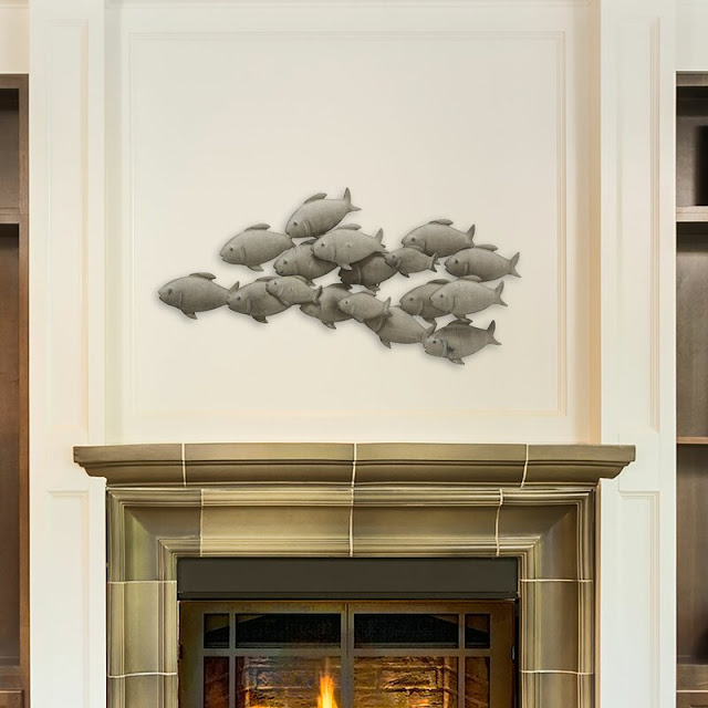 Cod School Of Fish Wall Decor