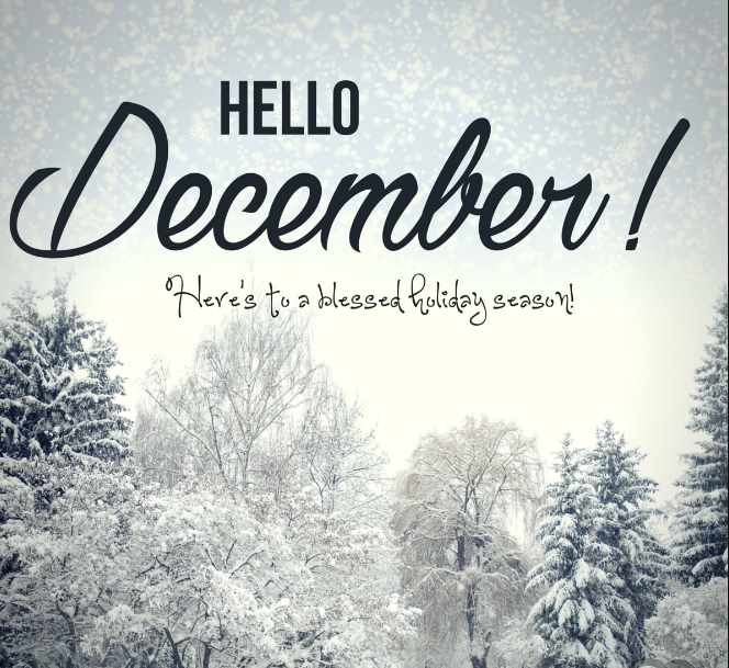 HAPPY NEW MONTH!! What Do You Wish To Have In This New Month Of December?