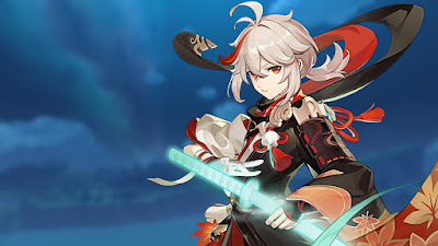 Genshin Impact - Kazuha. Best builds, weapons, artifacts
