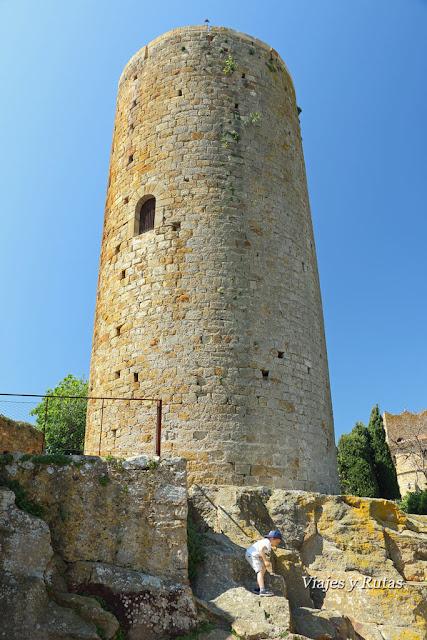 Torre de las horas, Pals