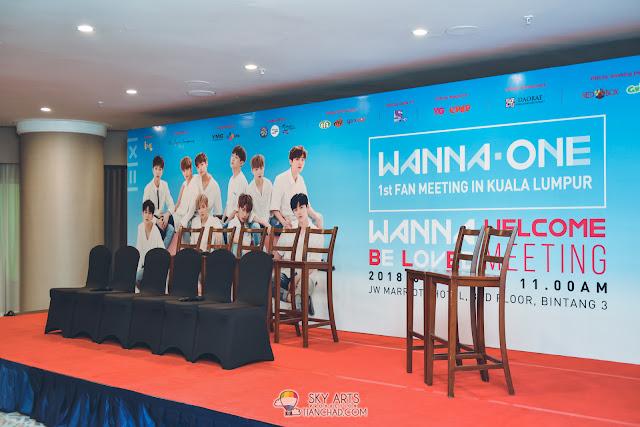 Wanna One Fan Meeting in Kuala Lumpur Press Con Malaysia #wannaoneinKL Wannaoneinmy