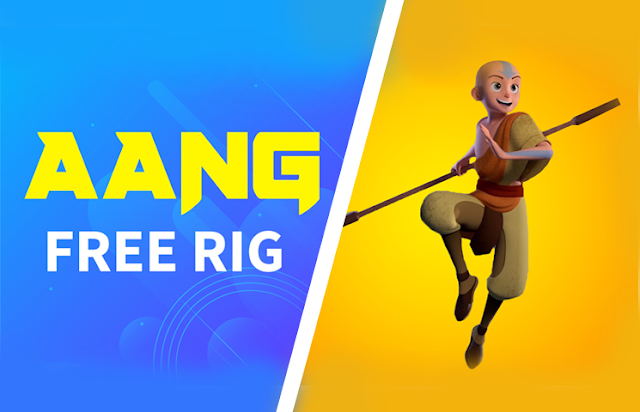 Download  Aang FREE RIG With Advanced Facial Expression | 2020