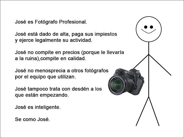 Sobre Fotógrafos (no tan) Profesionales