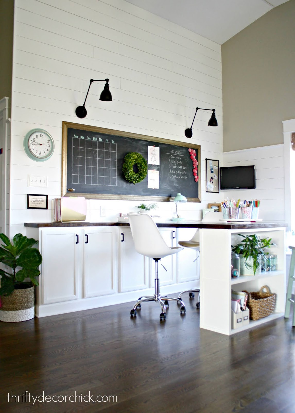 Loft office/craft room