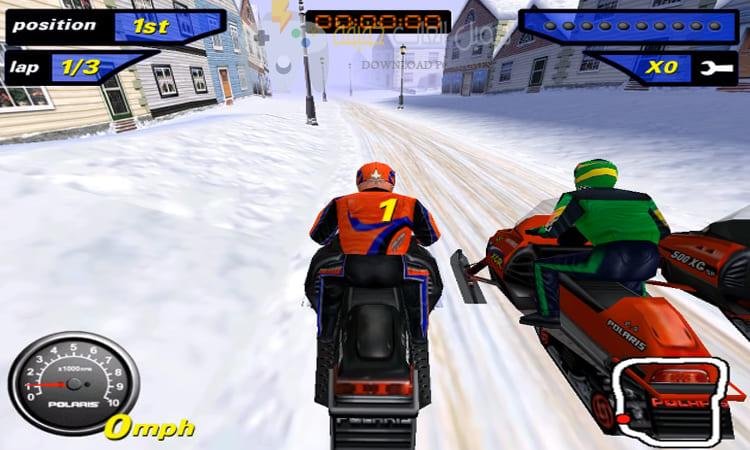 تحميل لعبة موتوسيكلات Snow cross للكمبيوتر