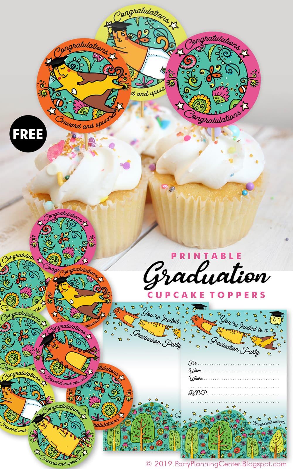 a free graduation printables template