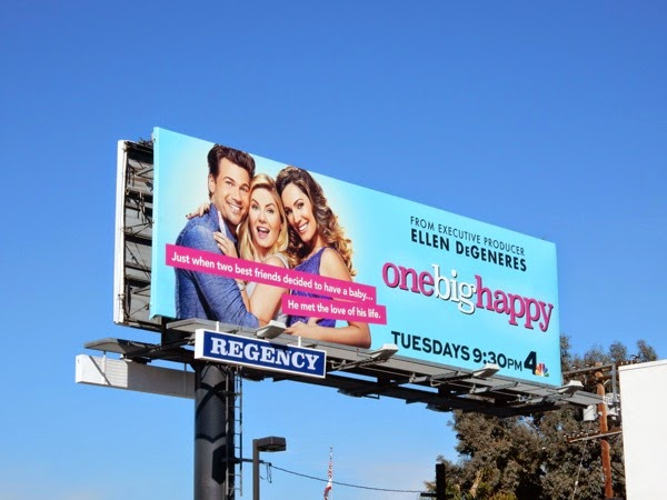 One Big Happy season 1 billboard