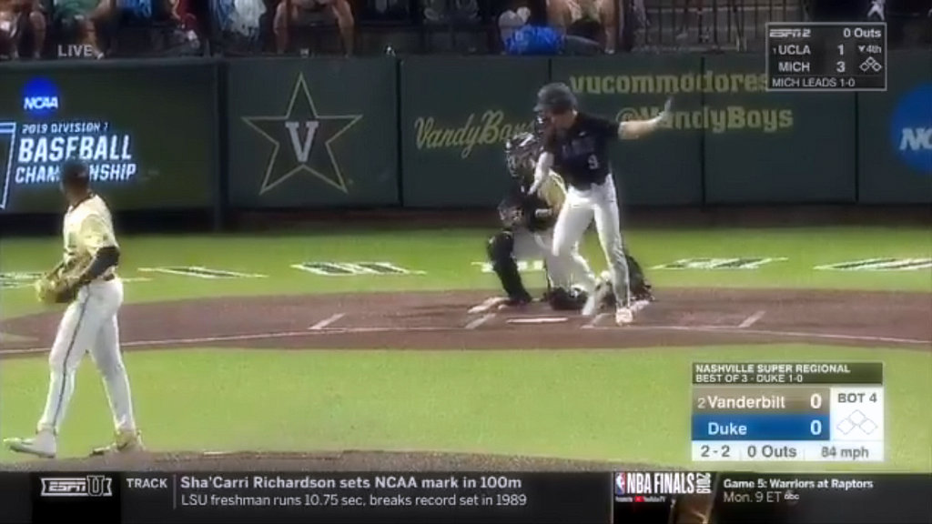 Kumar Rocker released the best game in the history of college baseball