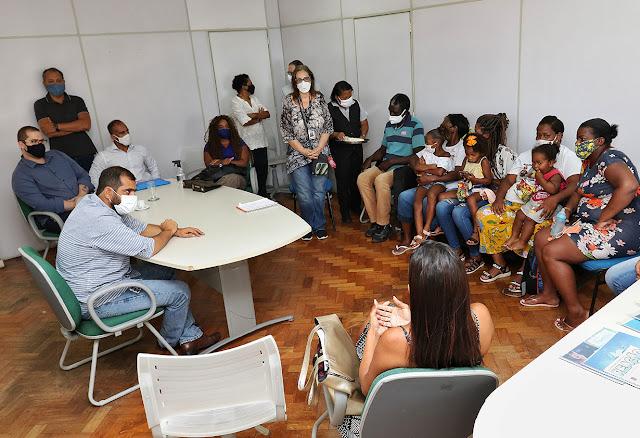 Ministra Damares participa de encontro com Bruno Dauaire, Jovita Belfort e familiares dos meninos