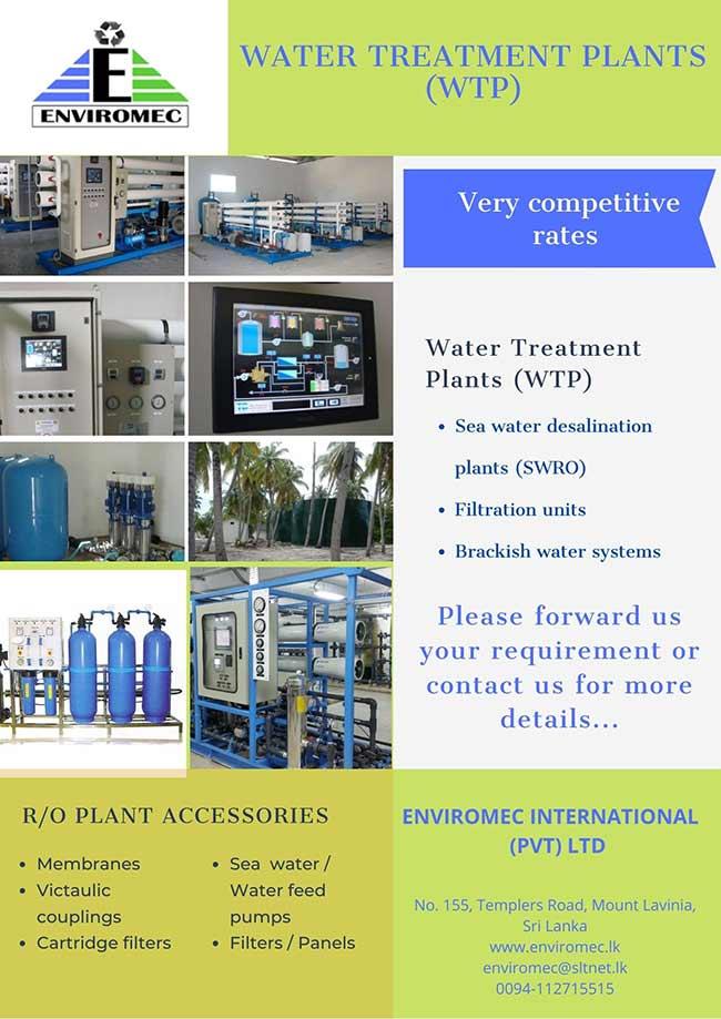 Water Treatment Plants ( WTP ) by Enviromec
