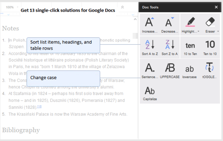 Two Helpful Google Docs Add-ons for Teachers and Students