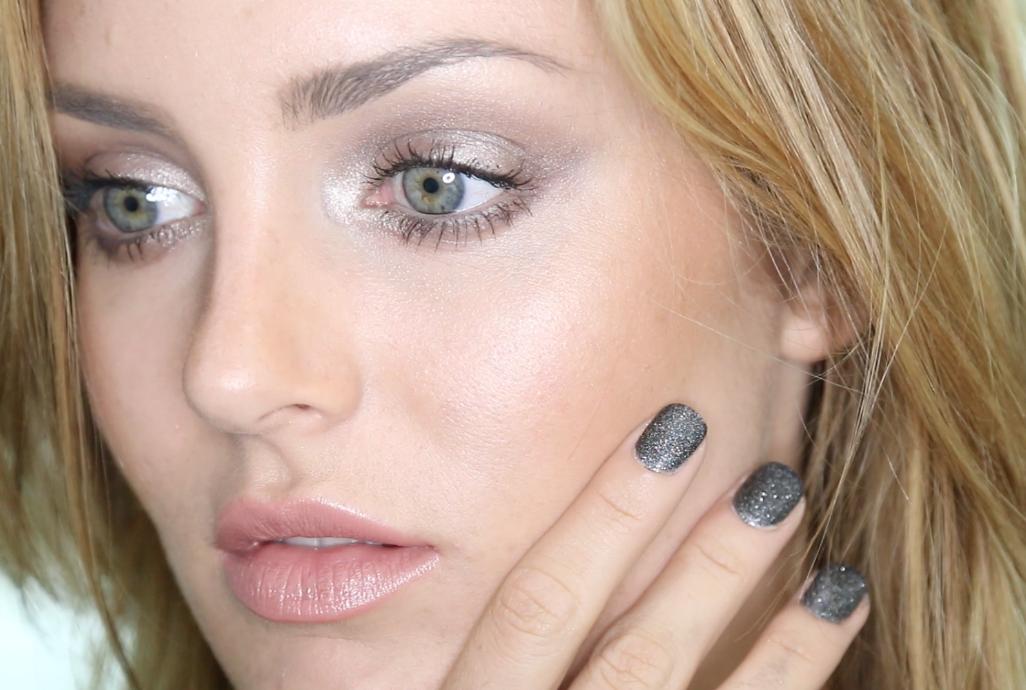Eye makeup for hazel eyes and pale skin